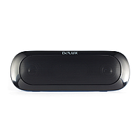 Колонки Delux DLS-Q7UB, Портативные, Порт USB, SD кардридер, RMS 2W2, Чёрный