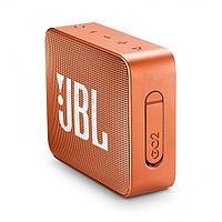 Колонки JBL GO (1.0) - Orange, JBLGOORG, 3Вт RMS, 180Hz-20kHz, 80dB, Line-In 3.5mm, 600 мАч, Bluetooth