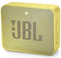 Колонки JBL GO (1.0) - Yellow, JBLGOYEL, 3Вт RMS, 180Hz-20kHz, 80dB, Line-In 3.5mm, 600 мА*ч, Bluetooth