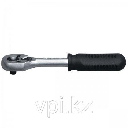 """Ключ трещоточный для торцевой головки с переключателем, хромированная, 3/8"""" Matrix"""