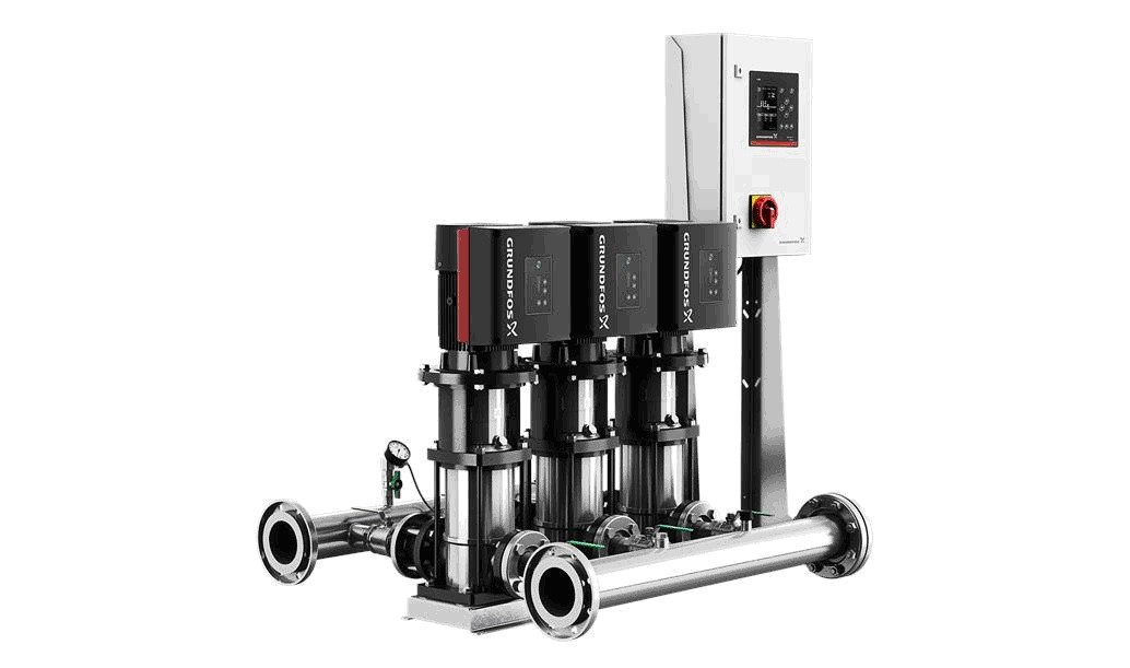 Установка повышения давления Grundfos HYDRO MULTU-E 3 CRIE20-2