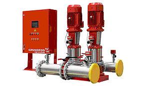 Насосная станция пожаротушения Grundfos HYDRO MX 2/1 3CR15-3