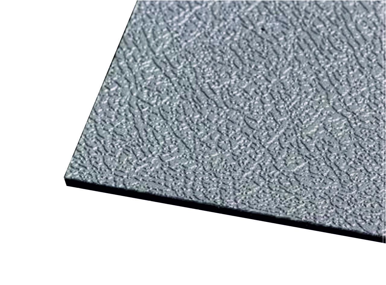 Серый ABS пластик (3мм) 1,22м х 2,44м