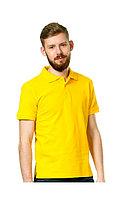 Сорочка с воротником «Поло» желтая