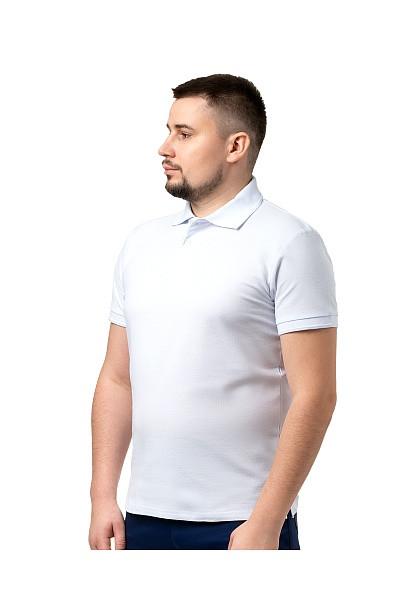 Сорочка с воротником «Поло» белая