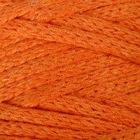 Шнур для рукоделия хлопковый 'Софтино' 100 хлопок 4 мм, 50м/140гр (оранжевый)  МИКС