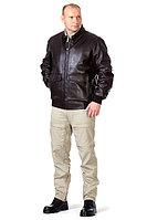 Куртка мужская кожаная «Экипаж»