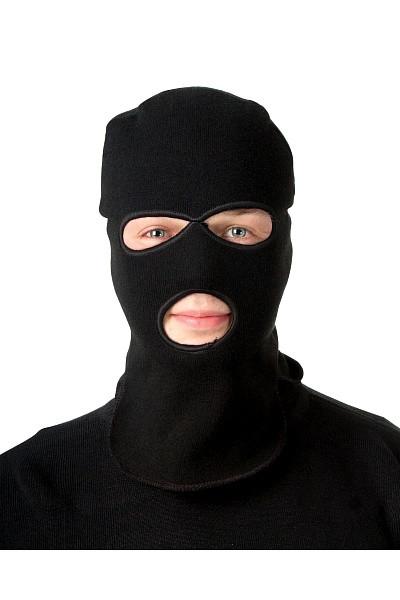 Подшлемник-маска вязаный