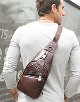 Мужской рюкзак BULLCAPTAIN кожа 100%, фото 3