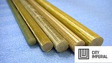 Полиуретан стержень 75 мм (L~400 мм, ~ 2,3 кг, красный)