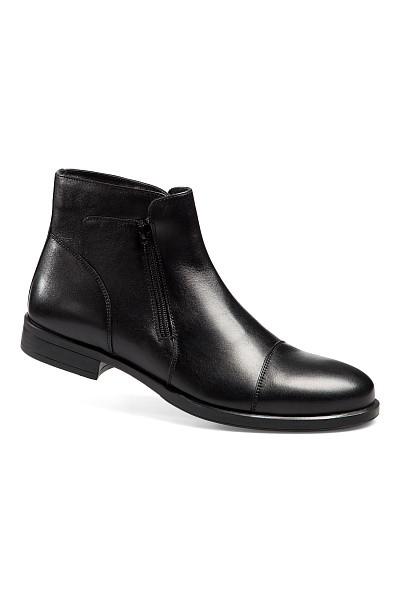 Ботинки мужские кожаные «Классик» на натуральном меху («Ральф Рингер»)