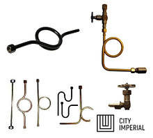 Трубка импульсная 200-ст.20-МП наруж G1/2- наруж G1/2 резьбовая прямая