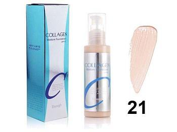 Тональный крем с коллагеном Collagen Moisture Foundation SPF 15  21 тон 100мл