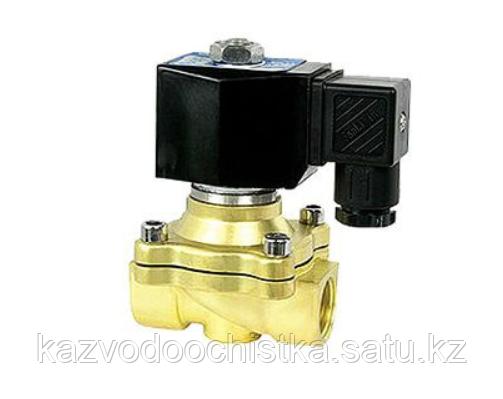 Соленоидный клапан нормально закрытый д25 2W-25NK-DC24V