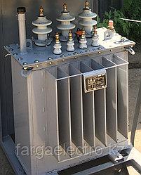 ТМГ 250/6(10)-0,4 У1; Трансформатор силовой, масленный трехфазный, мощность 100 кВА