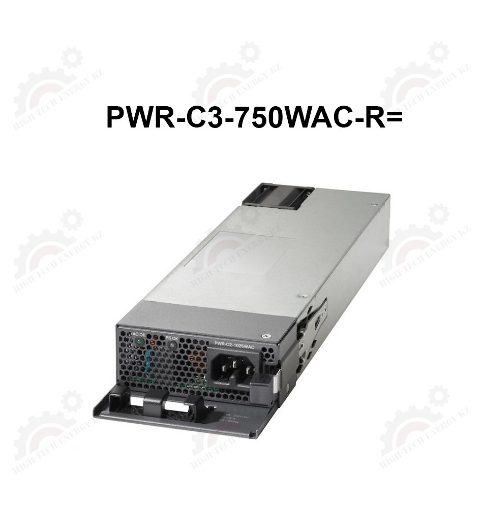 750W AC Config 3 Power Supply front to back cooling spare