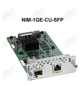 1-port GE WAN NIM dual-mode RJ45 & SFP