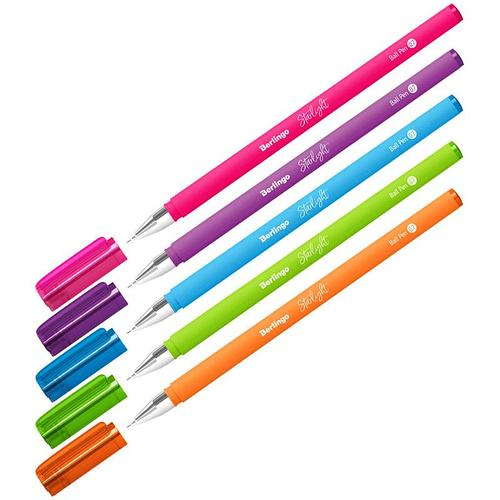 Ручка шариковая Berlingo Starlight синяя 0,7мм