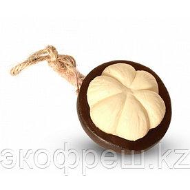 Тайское фруктовое мыло в форме мангостина
