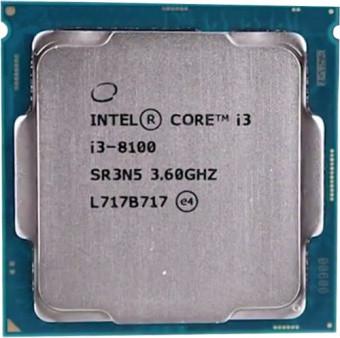 CPU Intel Core i3-8100 3,6GHz 6Mb