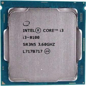 CPU Intel Core i3-8100 3,6GHz 6Mb, фото 2
