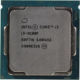 Процессор Intel 1151 i3-9100 3,6GHz (4,2GHz) 6Mb