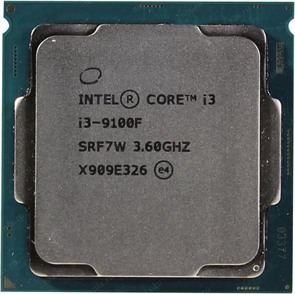 CPU Intel Core i3-9100 3,6GHz (4,2GHz) 6Mb, фото 2