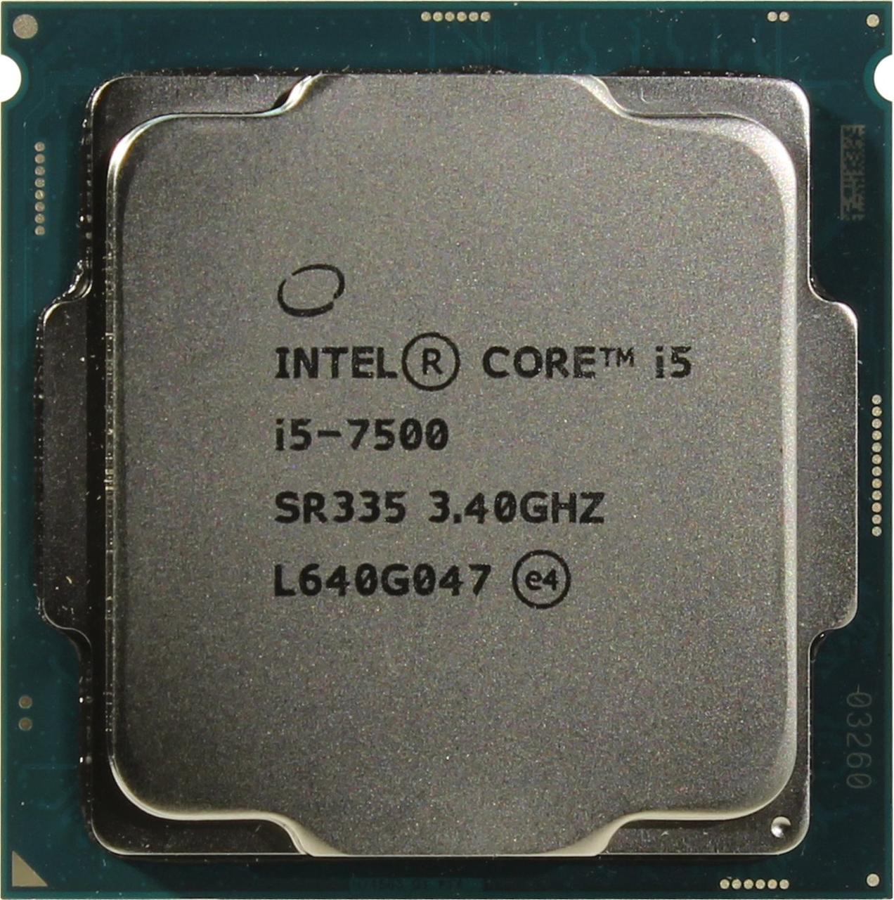 CPU Intel Core i5-7500 3,4GHz 6Mb