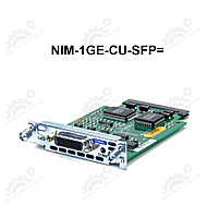 1-port GE WAN NIM, dual-mode RJ45 & SFP