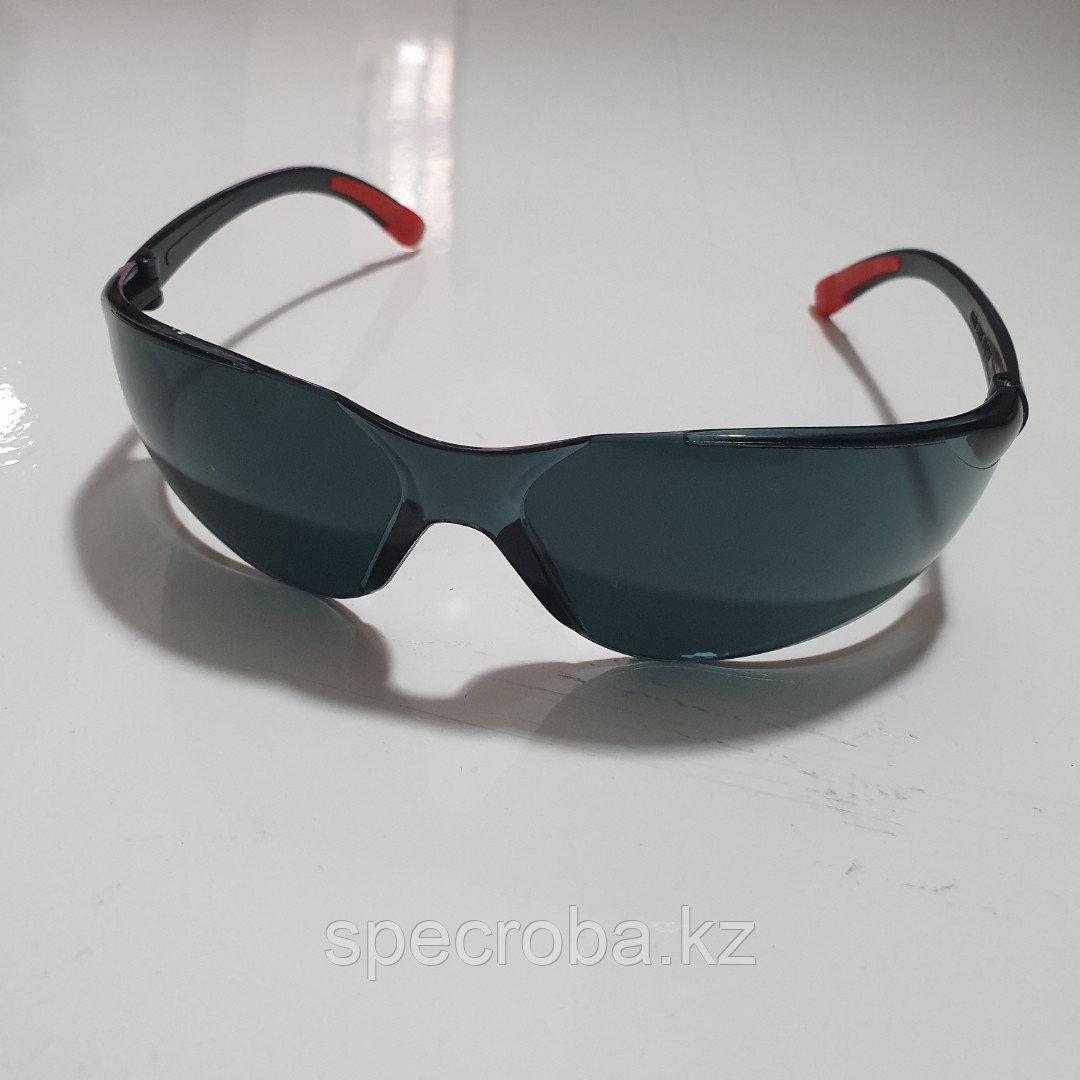 Очки защитные темные Стандарт:CE EN166F/ANSI Z87.1/