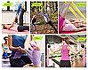 Резиновая эластичная лента-эспандер для фитнеса йоги, пилатеса, фото 4