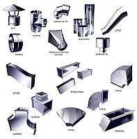 Воздуховод прямоугольный ( короб вентиляционный ) оцинкованный класса П ( плотные )