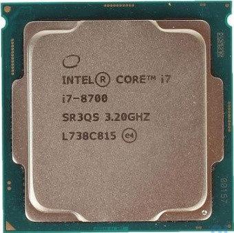 CPU Intel Core i7-8700 3,2GHz, 12Mb, фото 2