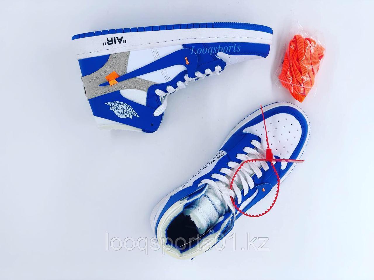 Кроссовки кеды Air Jordan высокие