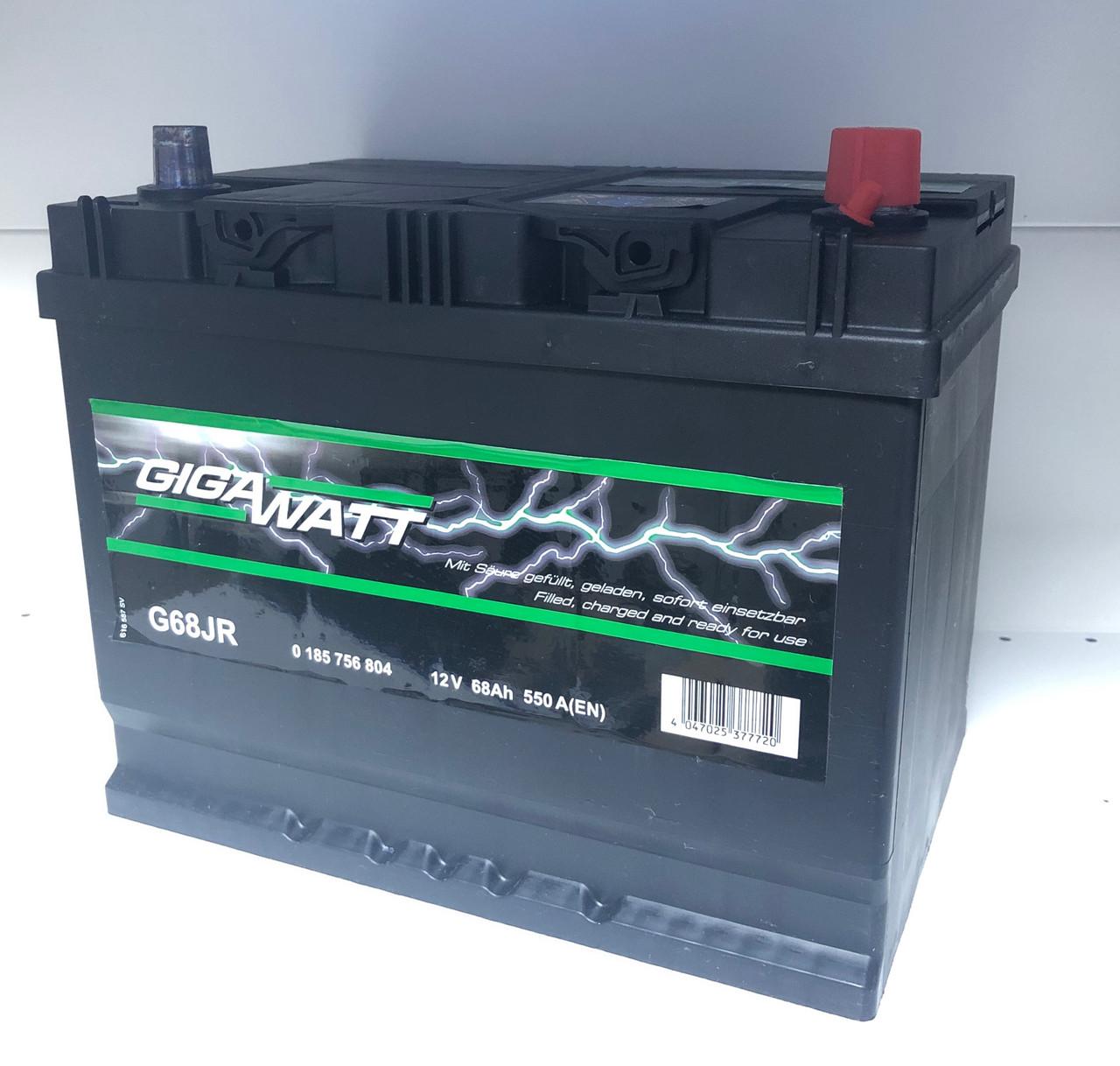 Аккумулятор GIGAWATT 68 Ah 568 404 055