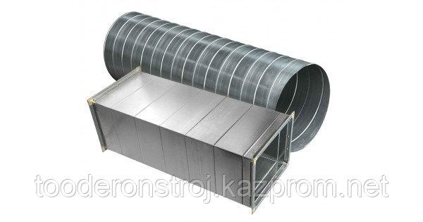 Производство, изготовление, монтаж  воздуховодов в г. Астане Казахстан