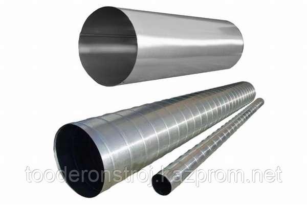 Воздуховод круглый ( труба вентиляционная ) диаметром 400 мм.