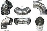 Воздуховод круглый ( труба вентиляционная ) диаметром 400 мм., фото 9