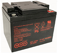 Аккумулятор WBR GPL12500 (12В, 50Ач)