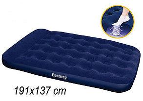 Надувной матрас Bestway 67225 ( размеры: 193*137*22 см) с встроенным насосом, фото 2