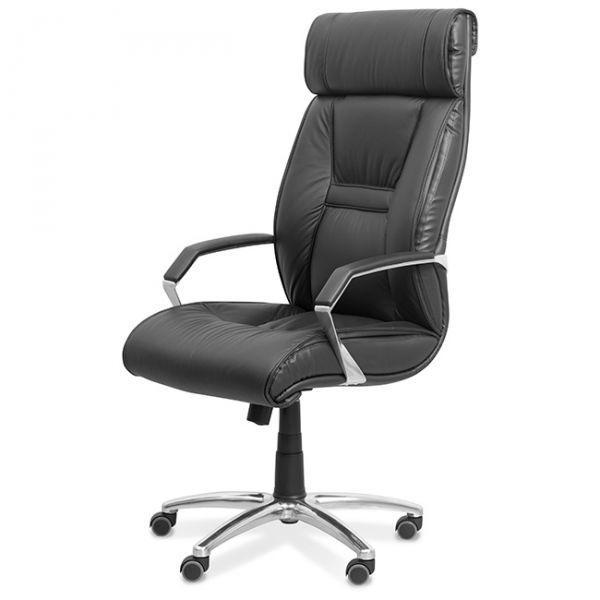 Кресло Олимп X хромированные подлокотники