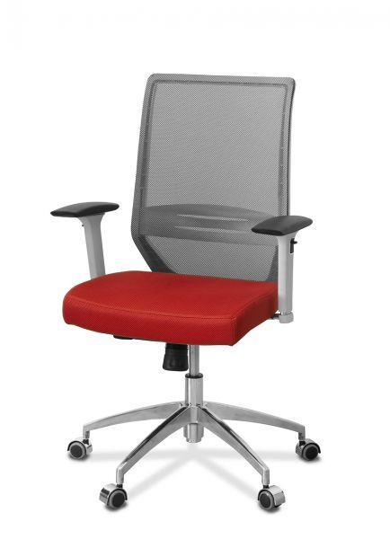 Кресло руководителя Aero lux (белый каркас)