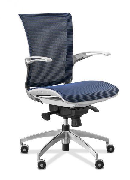 Кресло для персонала C80 (каркас белый)