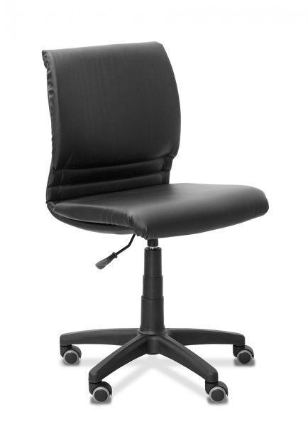Кресло оператора Квадро экокожа (опора из черного полиамида)