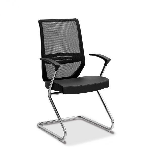 Кресло посетителя Aero на раме