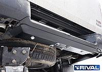Защита заднего бампера сталь Volkswagen  Amarok, V - 2.0d, 2010-2016, фото 1