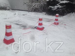 Дорожный пластиковый барьер 0,8 м