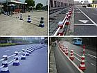 Дорожный пластиковый барьер 0,8 м, фото 2