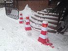 Дорожный пластиковый барьер 0,8 м, фото 5