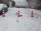 Дорожный пластиковый барьер 0,8 м, фото 6